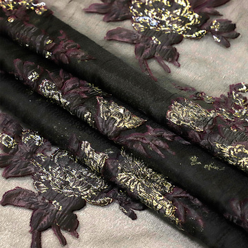 Jacquard fabric Weave Curtains