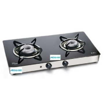 2 Burners LPG Gas Cooktop