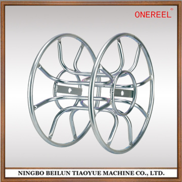 double flange iron tube skeleton reel