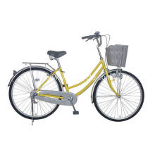 Yellow Color Bike for Woman Bicycle