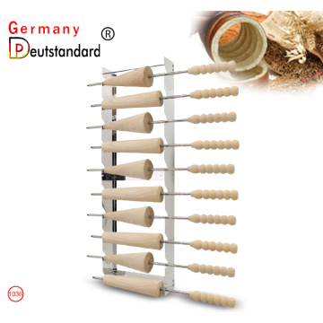 chimney cake roll rack  Kürtőskalács