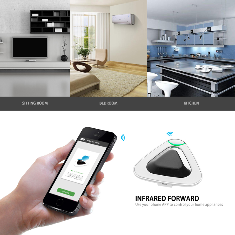 Smart Home Security Infrared Transponder