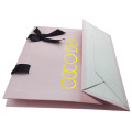 Custom Printed Glossy Gift Embossing Paper Bag
