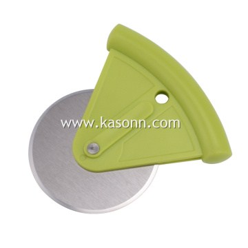 Stainless Steel Pizza Cutter Wheel with Cover