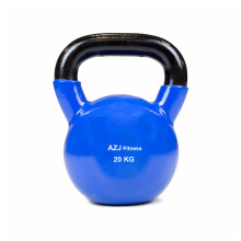 20 KG Blue Vinyl Coated Kettlebell