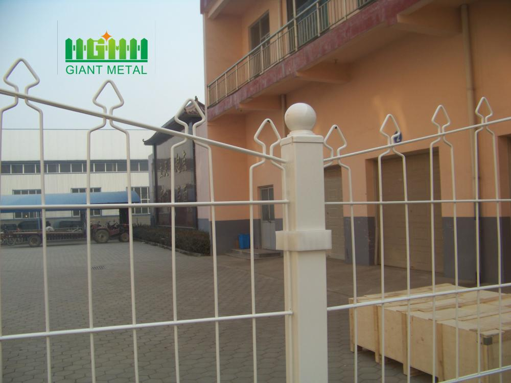 Welded Decofor Panel Fence