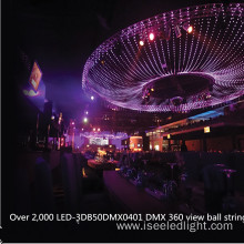 Milky 50mm DMX addressable RGB LED ball