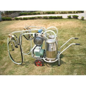 Vacuum Pump-typed Advanced Mobile Milking Machine