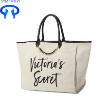 Leading for Large Cotton Tote Bag Large capacity leisure shopping package export to Italy Factory