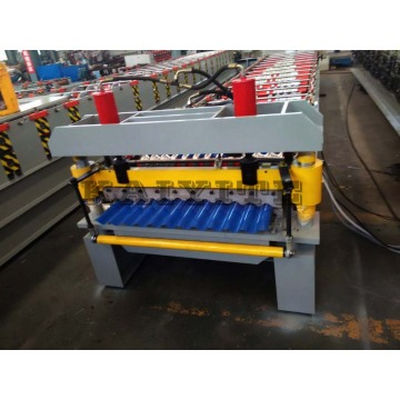 Metal Steel Corrugated Roof Panel Roll Forming Machine