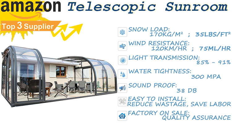 01telescopic sunroom