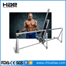 White building wall painting machine