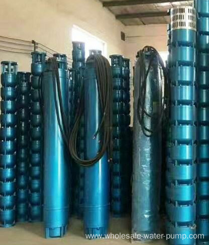 Multilevel submersible drainage electric pump