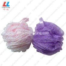Fast Delivery for Mesh Sponges Bath Ball Spots Lace Smooth mesh bath sponge export to United States Manufacturer