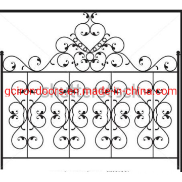 Hot Sale Home and Garden Iron Fence Panel