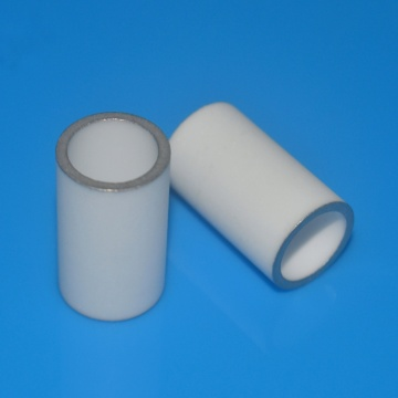 I-High Precision Glazed Alumina Metallized Ceramic Sleeve