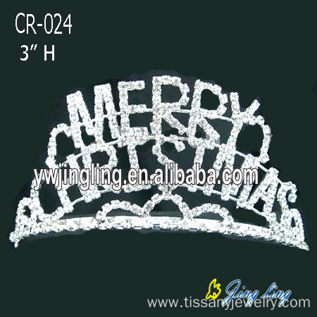 Holiday Merry Christmas Pageant Tiara