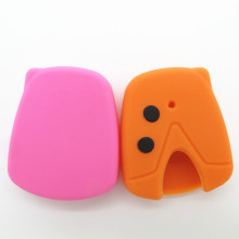 2Buttons Silicone Car Key Cover For Proton Wira