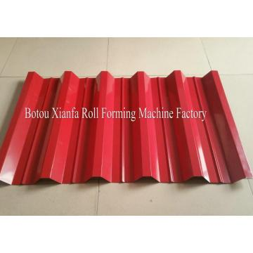 Roman Glazed Tile Double Deck Roll Forming Machine