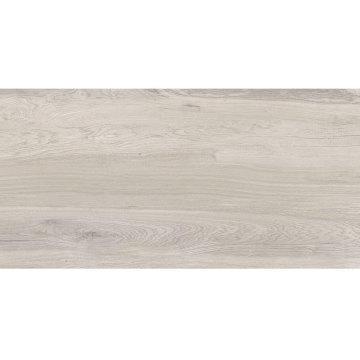 Light grey wood look porcelain flooring tile
