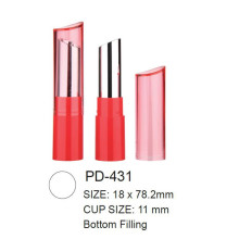 Slim Empty Round Cosmetic Lipstick Packaging
