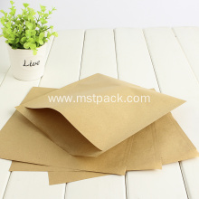 Simple Kraft Paper Flat Bag without zipper