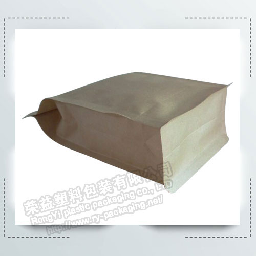 Kraft Paper Bags with Clear Window
