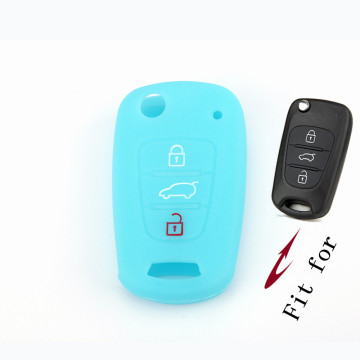 3 Buttons Car Key Cover For Kia Soul