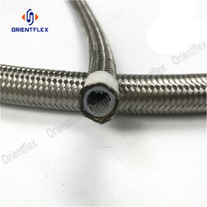 Stainless steel braided rubber hose R14