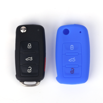 Car Accessories Car Key Cover For VW Skoda