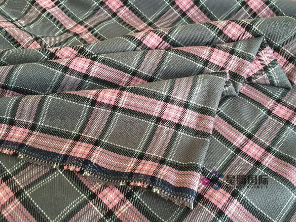 Polyester Blend Shirt Fabric