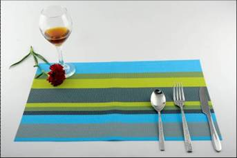 Stripe series of household business dining mat decoration12