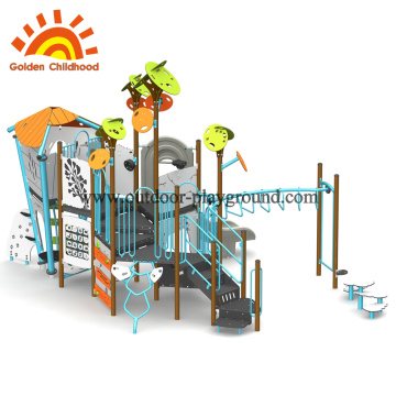 Customized Outdoor Rope Play Structure