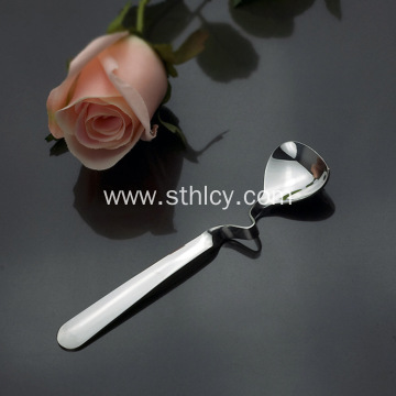 Bend Twist Handle Stainless Steel Spoon for Coffee