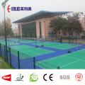 Outside Basketball court flooring