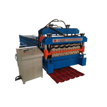 Glazed And IBR Double Layer Roll Forming Machine