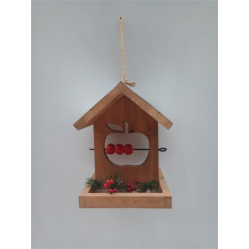 Patio Area Wooden Feeding Bird House