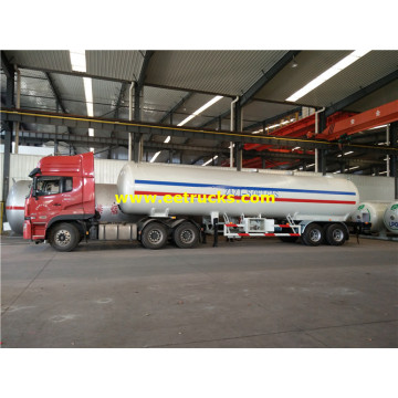 25 Ton ASME LPG Transport Trailers
