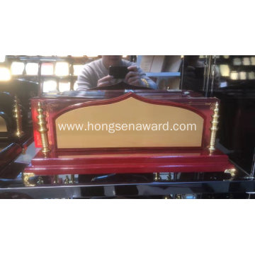 Wood Desk Name DN-1
