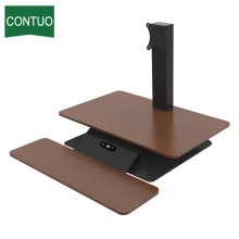 Bottom price for Electric Lifting Table Best Convertible Adjustable Standing Convert Desk Converter supply to El Salvador Factory