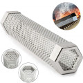Pellet Smoker Tube Hexagon Shape Perforated BBQ