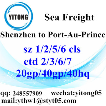 Shenzhen Sea Freight Logistics Company to Port-Au-Prince