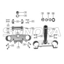 STEERING STEM for ZONGSHEN RX3 SPARE PARTS TOP QUALITY