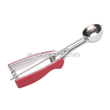 Professional Sturdy Cookie Scoop with Non-slip TPR Grips