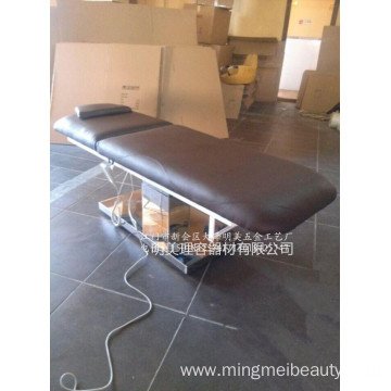 2-Section Electric lifting Beauty Facial Massage Bed