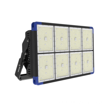 IP66 High-end 1440w Aluminium LED Banjir Lampu kanggo Stadion