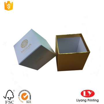 Handmade cardboard box candle packaging gift box