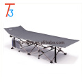 Military Style Folding Cot with Free Side Storage Bag System and Pillow