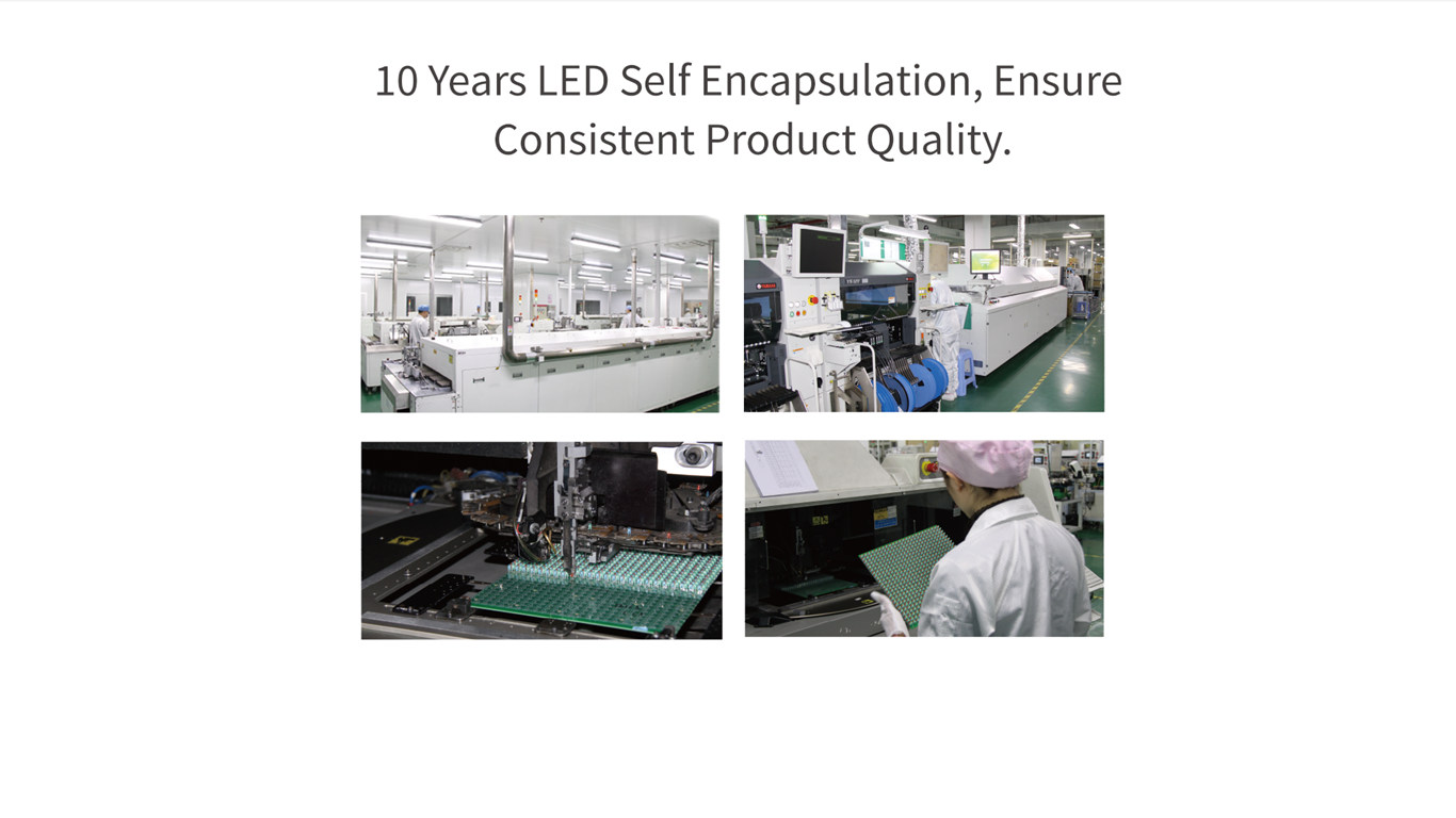 Led display manufacture