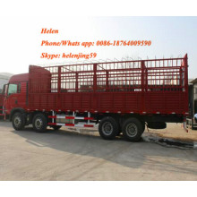 Personlized Products for Grocery Cargo Truck Sinotruck Howo 8x4 Heavy Duty Lorry Cargo Truck export to China Hong Kong Factories